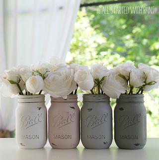 painted-distressed-mason-jars-pink-grey-chalk-paint-3-of-21-2