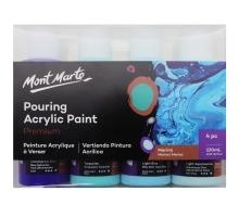 Mont Marte Marina Acrylic Pouring Paint Set