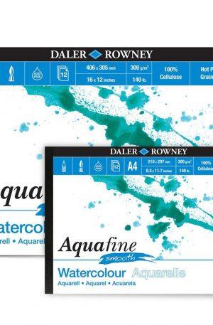 Daler Rowney Aquafine Watercolour Pads