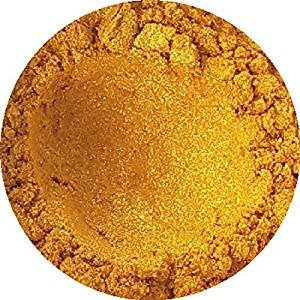 Flame gold mica powder