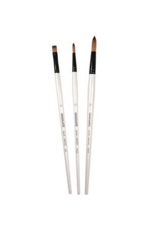 Daler Rowney Synthetic Long Handle Brush Set