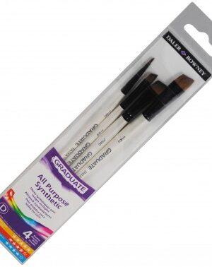 Daler Rowney Synthetics Shader Set of 4 Brushes