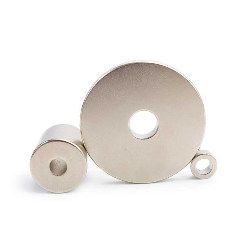 Neodymium Ring Magnets available in a variety of sizes
