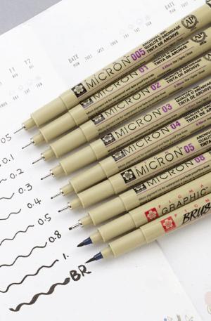 Sakura Pigma Micron Pens for Drawing