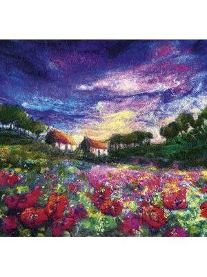 Sundown Poppies puzzle